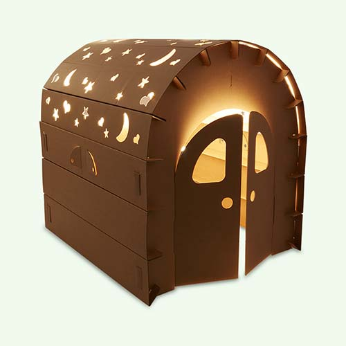 Brown Funny Paper Miley Playhouse