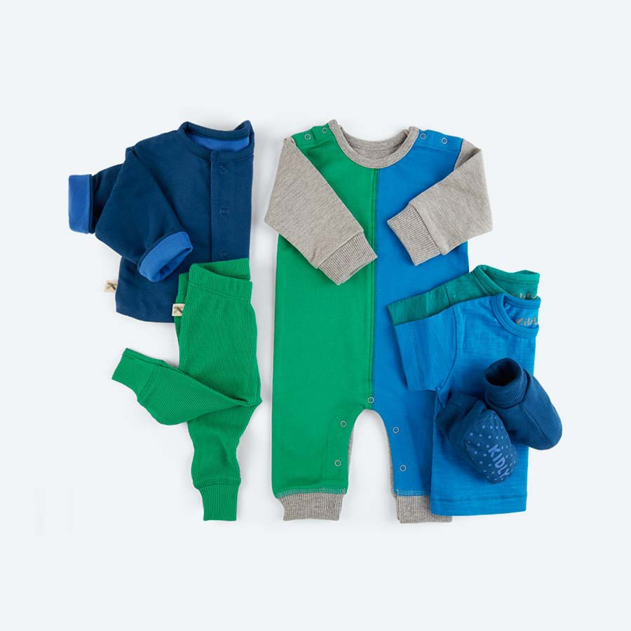 Blue KIDLY's Own Six Piece Gift Set