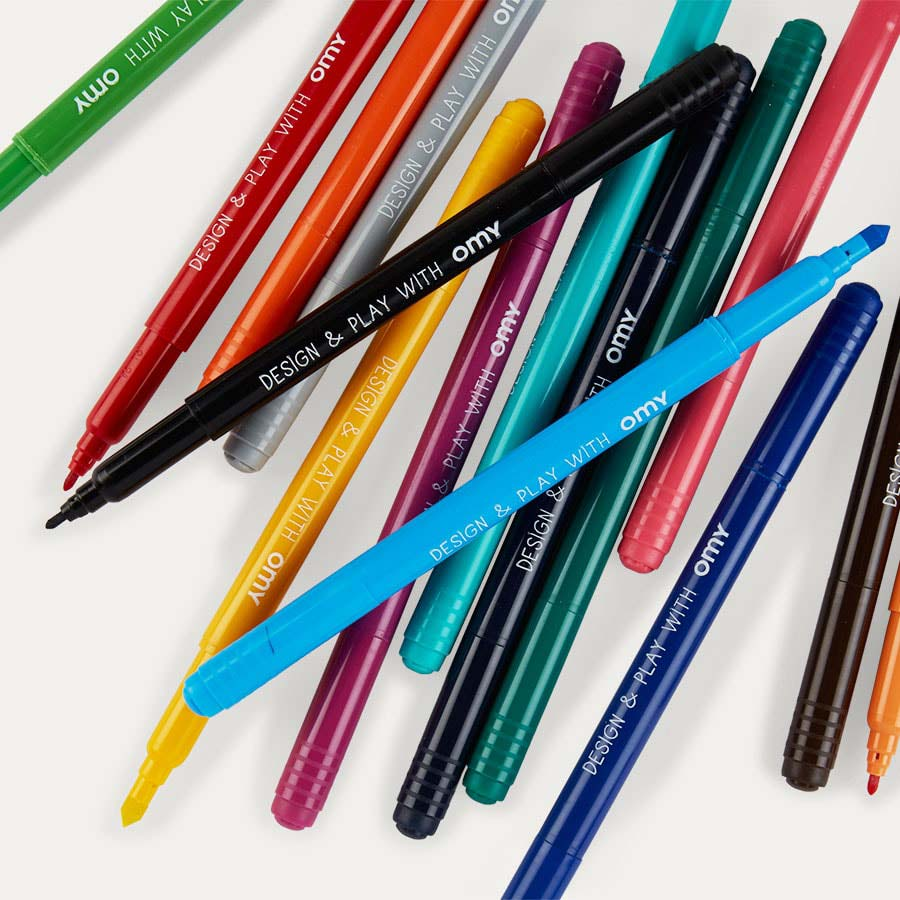 Multi OMY DESIGN & PLAY Washable Colouring Pens