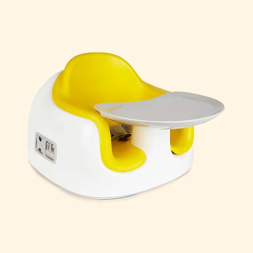 Yellow Bumbo Multi-Seat