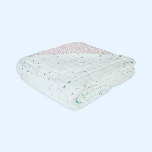 Metallic Skylight aden + anais Precious Fabric Dream Blanket