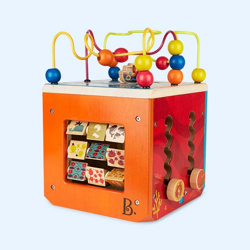 Multi B. Toys Underwater Zoo Activity Cube