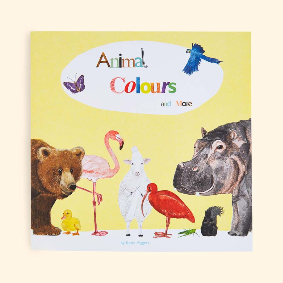 Multi Eight Bear Books Animal Colours