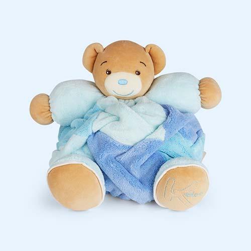 Blue Kaloo Large Patchwork Chubby Bear