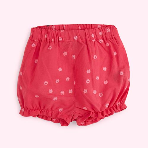 Raspberry La Queue du chat Bloomer Shorts