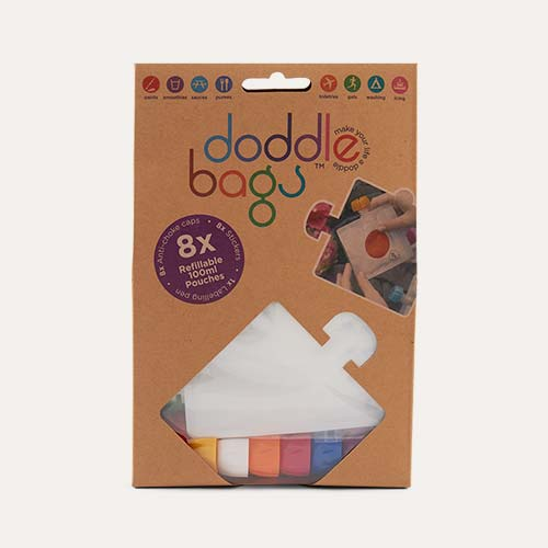 Multi DoddleBags Re-usable Doddle Bags - 8 Pack
