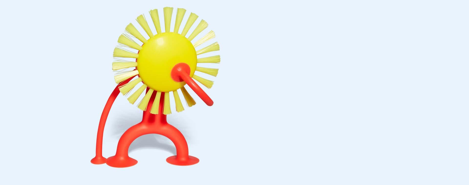 Yellow Moluk Plui Brush Sunny