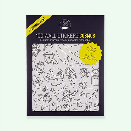 Cosmos OMY DESIGN & PLAY Glow in the Dark Wall Stickers