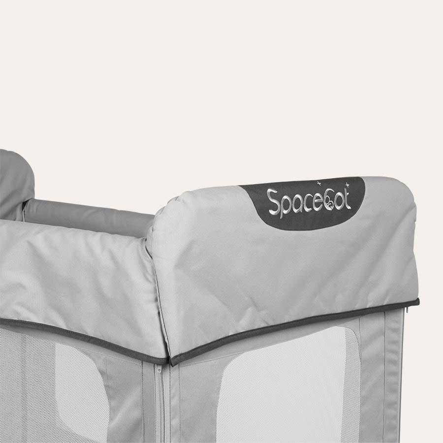 Grey SpaceCot Travel Cot
