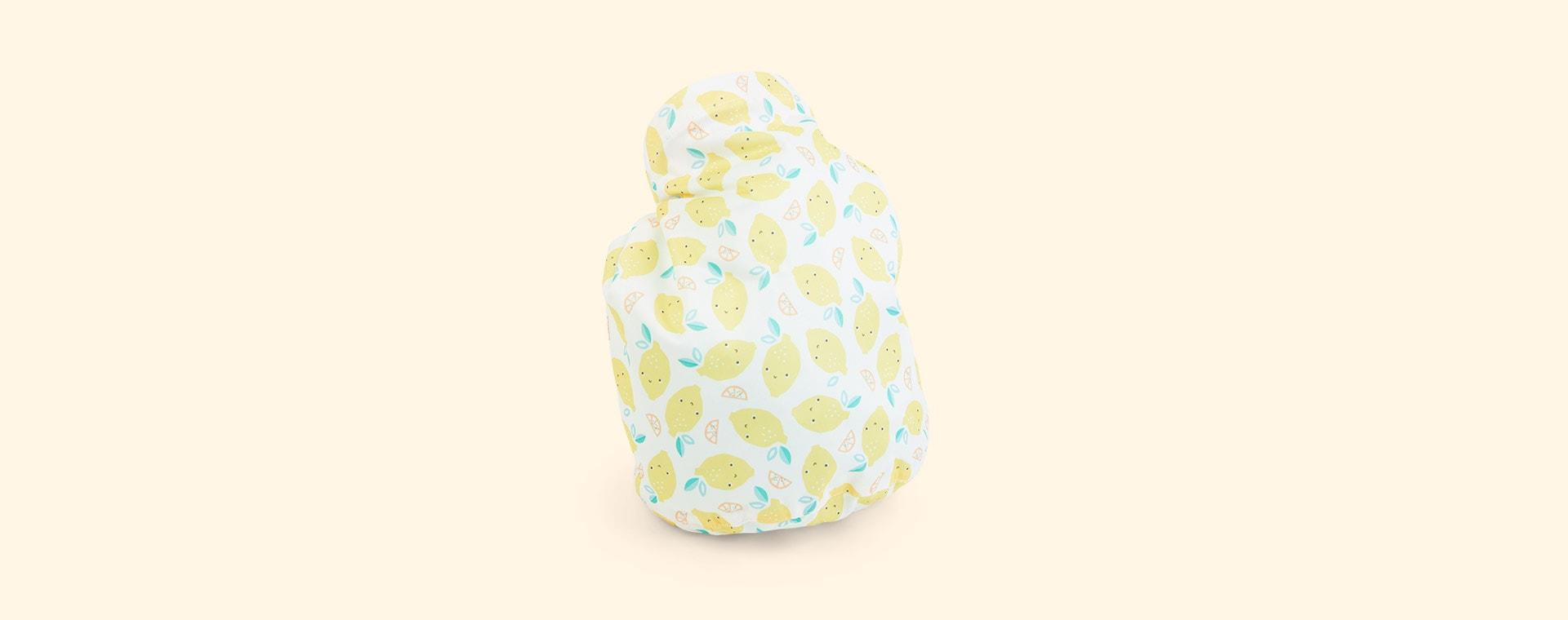 Lemon Print Bambino Mio Wet Bag
