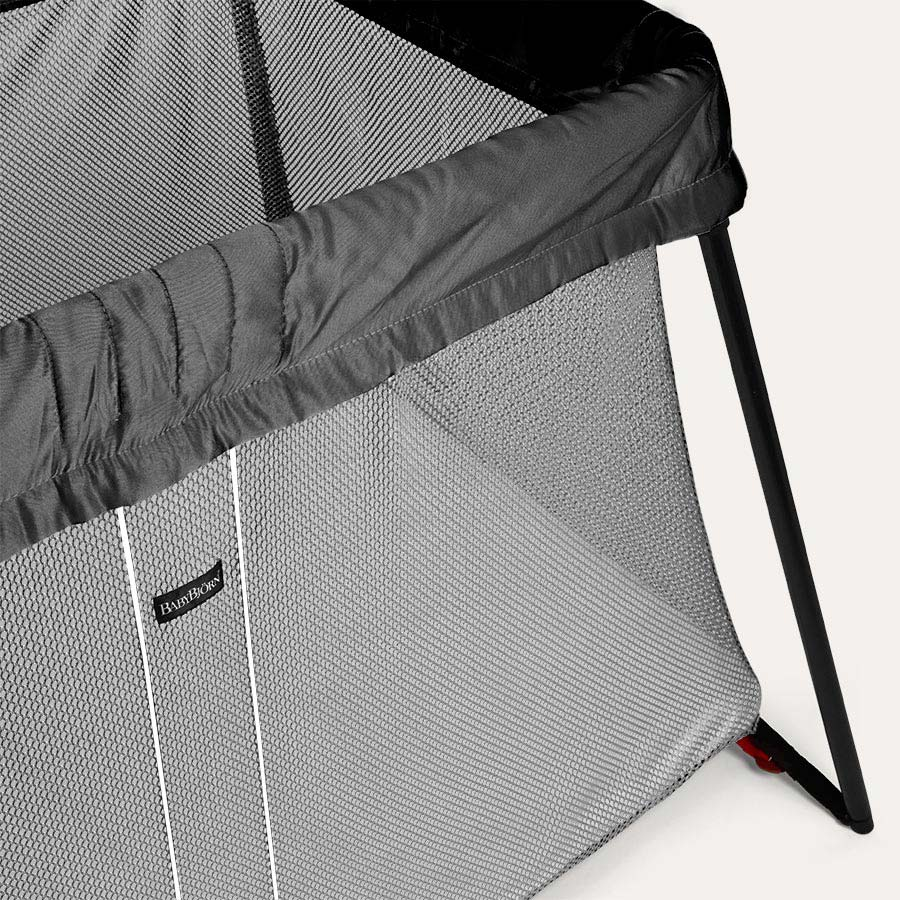 Black BabyBjorn Travel Cot Light