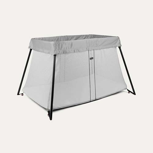 Silver BabyBjorn Travel Cot Light