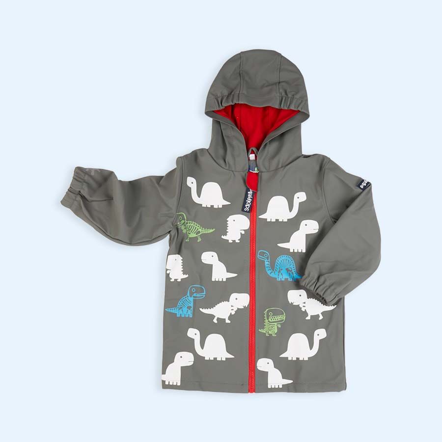 Dino SquidKids Colour Changing Raincoat