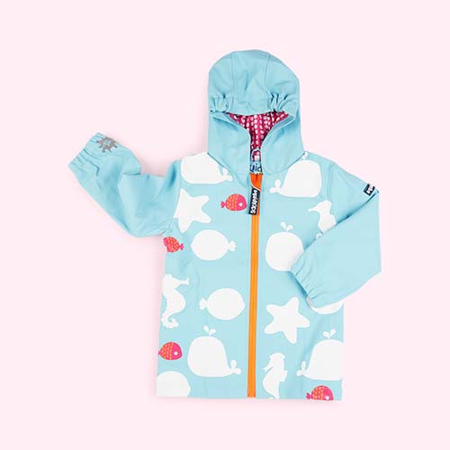Star Fish SquidKids Colour Changing Raincoat