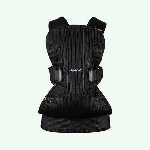 Black BabyBjorn Baby Carrier One Air