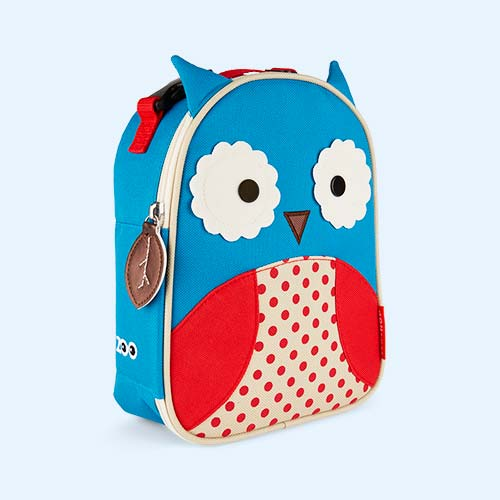 Owl Skip Hop Zoo Lunchie Insulated Lunch bag