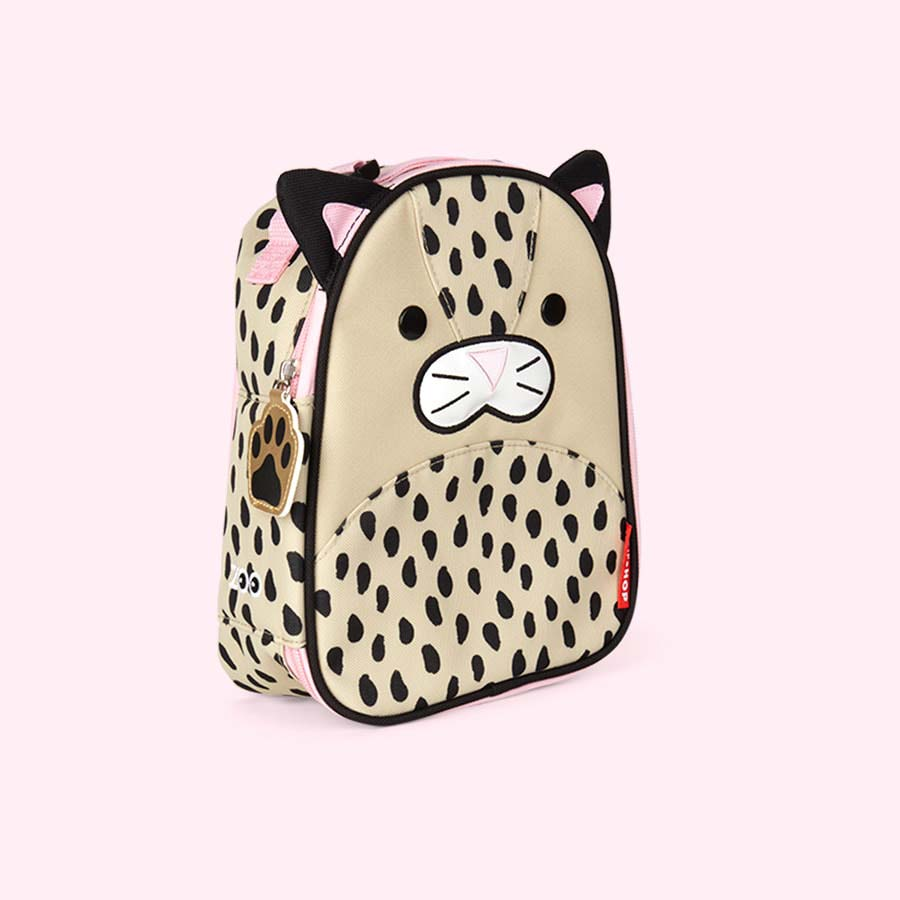 Leopard Skip Hop Zoo Lunchie Insulated Lunch bag