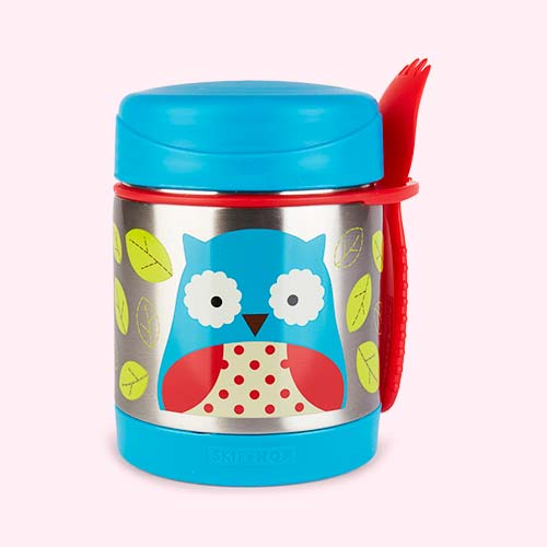 Owl Skip Hop Zoo Insulated Food Jar