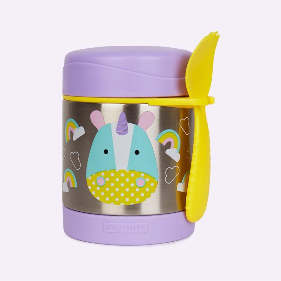 Unicorn Skip Hop Zoo Insulated Food Jar