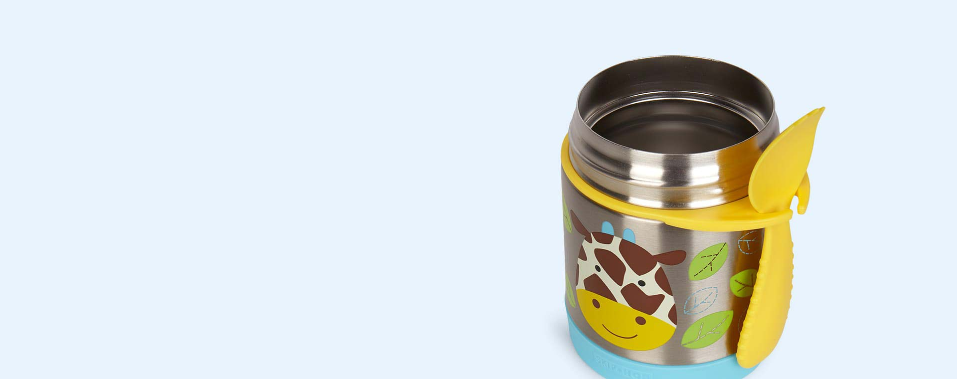 Giraffe Skip Hop Zoo Insulated Food Jar