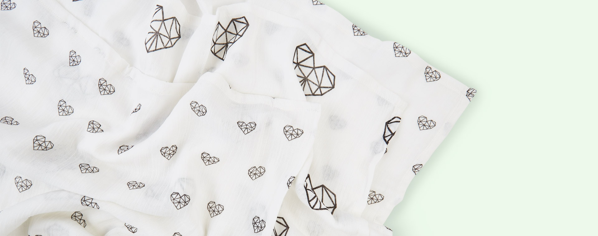 Heart Mama Designs Muslin Squares - 3 Pack