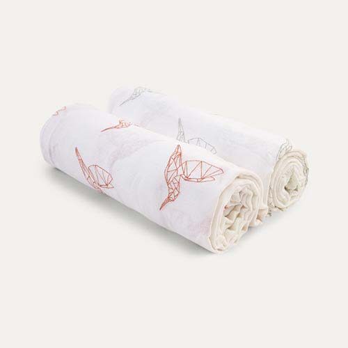 Hummingbirds Mama Designs Muslin Swaddle - 2 Pack