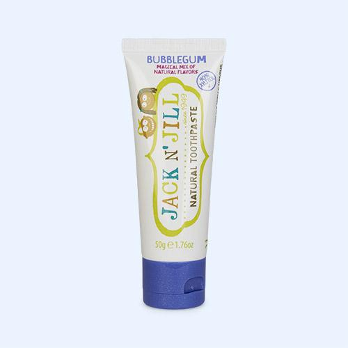 Bubblegum JACK N' JILL Organic Flavoured Toothpaste