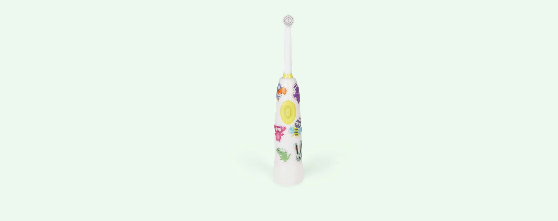 White JACK N' JILL Buzzy Brush Electric Musical Toothbrush