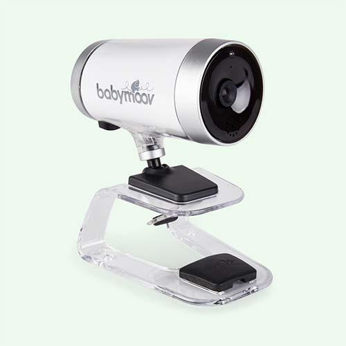 White Babymoov Baby Camera Monitor 0% Emissions