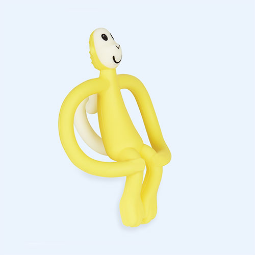 Yellow Matchstick Monkey Monkey Teether
