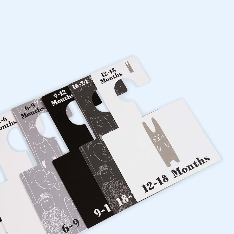 Monochrome Animals Belo & Me Wardrobe Dividers