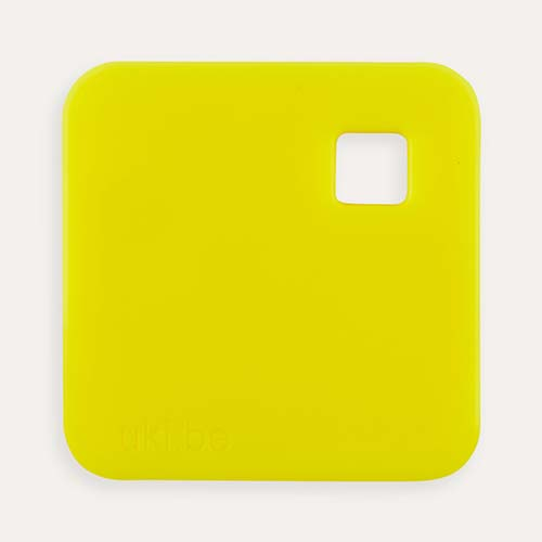 Yellow uki.be Square Teether
