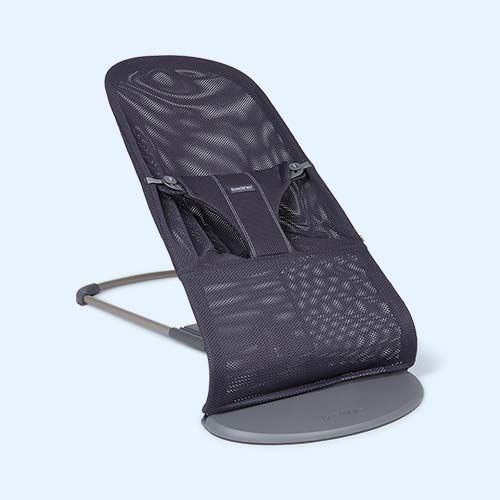 Anthracite BabyBjorn Bouncer Bliss Mesh