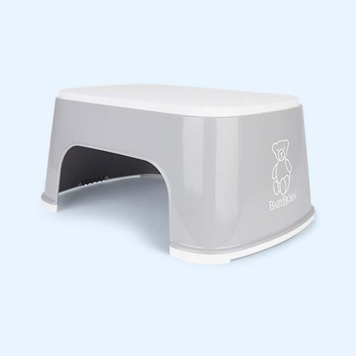 Grey BabyBjorn Step Stool