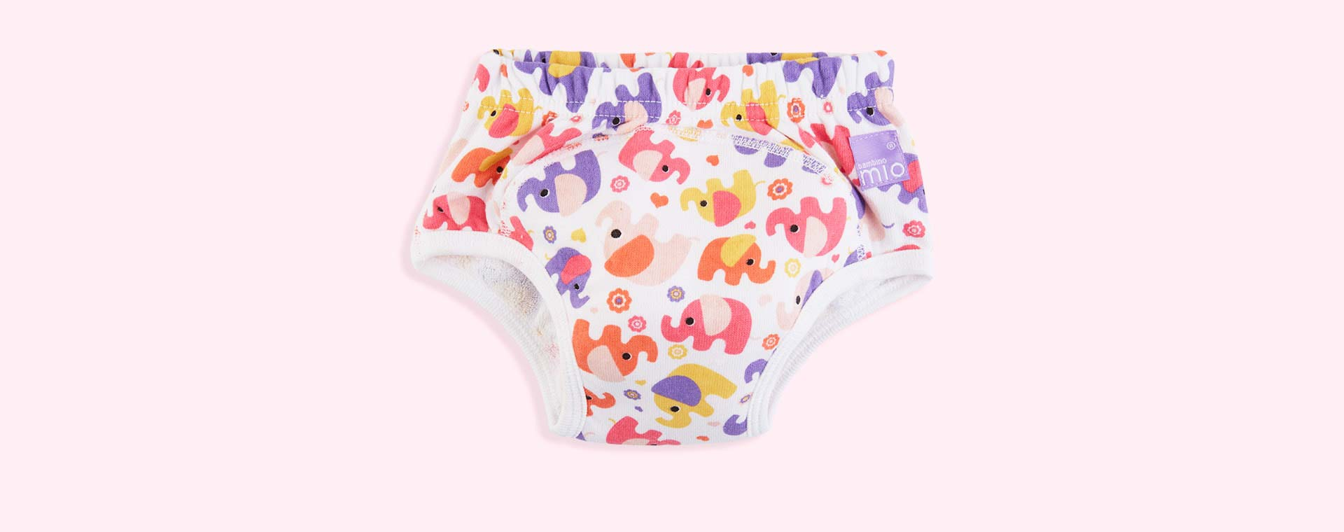 Pink Elephant Bambino Mio Potty Training Pant