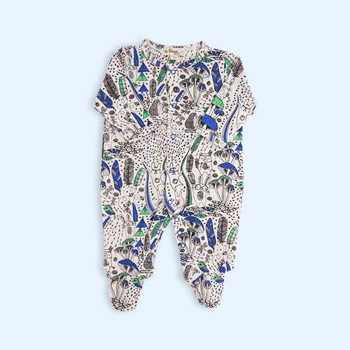 Blue Wilderness The Bonnie Mob Buddy Printed Sleepsuit
