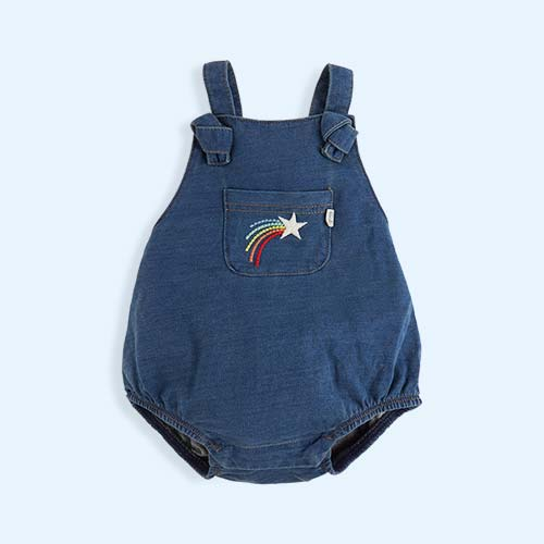 pale denim The Bonnie Mob Funk Dungaree Romper