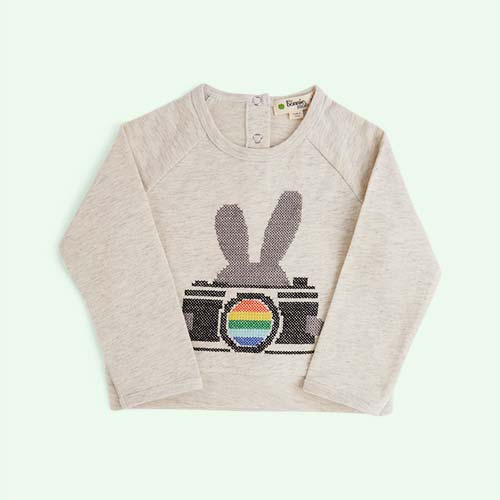 Bunny Camera The Bonnie Mob Elvis Embroidered Sweatshirt