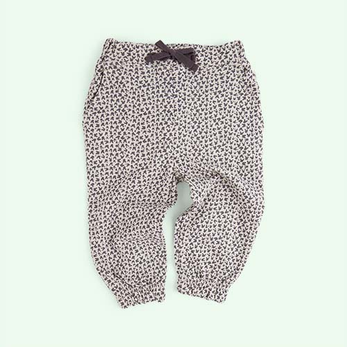 Grey Bunny Leopard Print The Bonnie Mob Jay Comfy Trousers