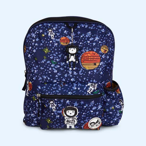 Spaceman Navy Babymel Kids Backpack