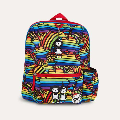 Rainbow Multi Babymel Kids Backpack
