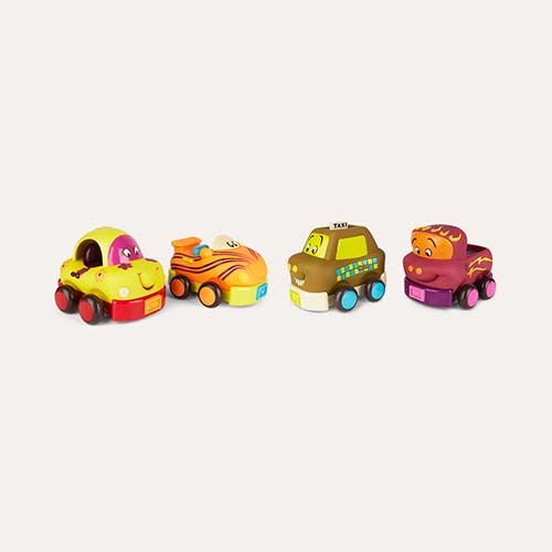 Multi B. toys Wheeee-ls Car Set - 4 Pack
