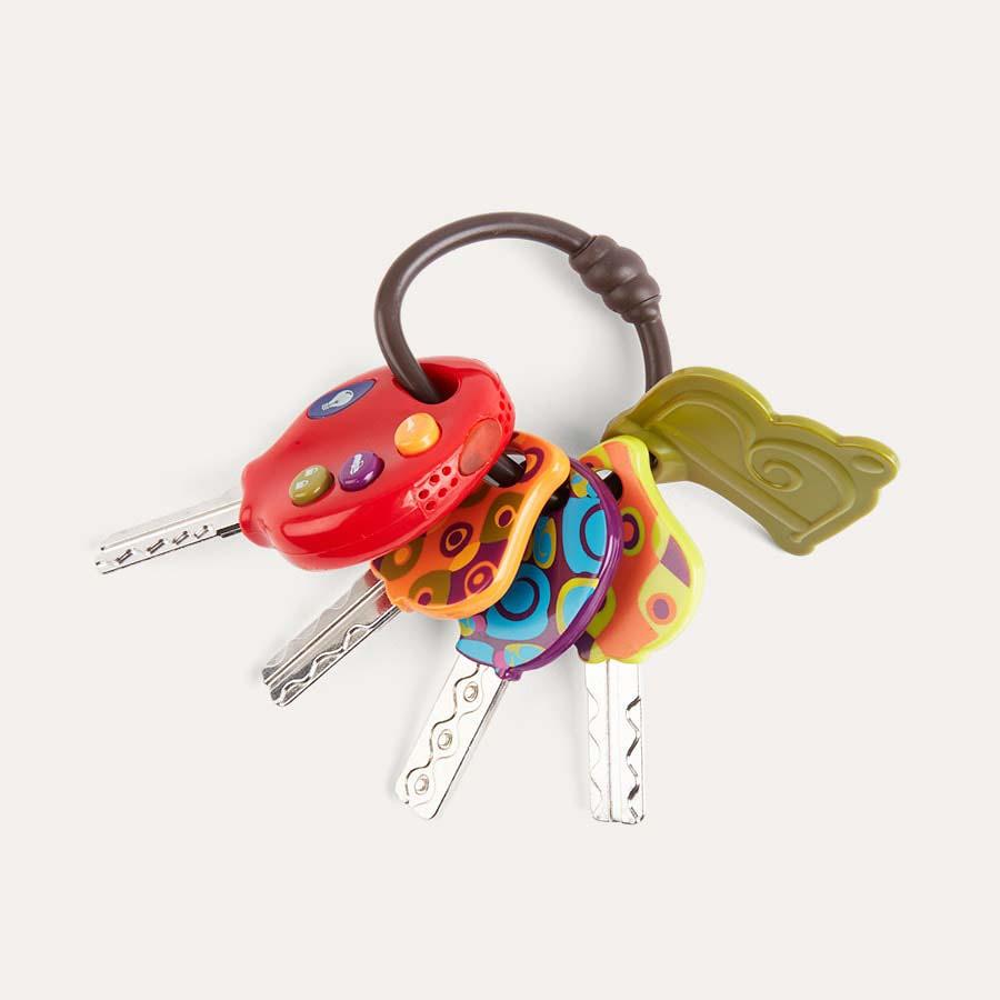 Multi B. Toys Luckeys Play Keys