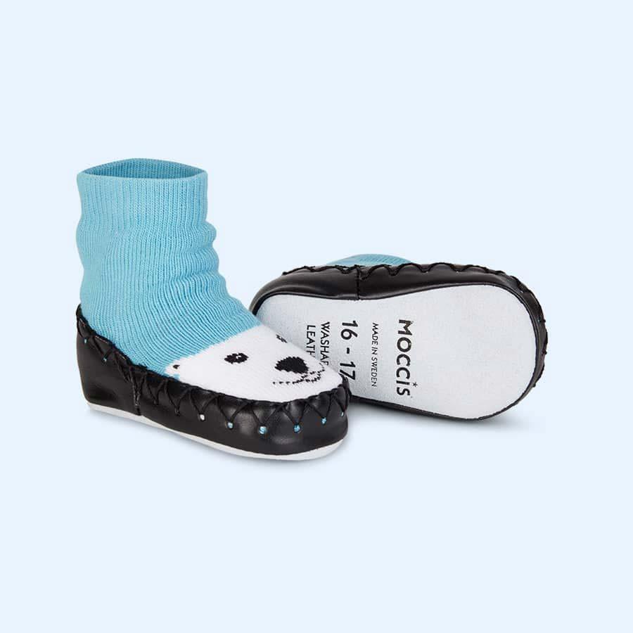 Just Chill Moccis Moccasin Slipper Socks