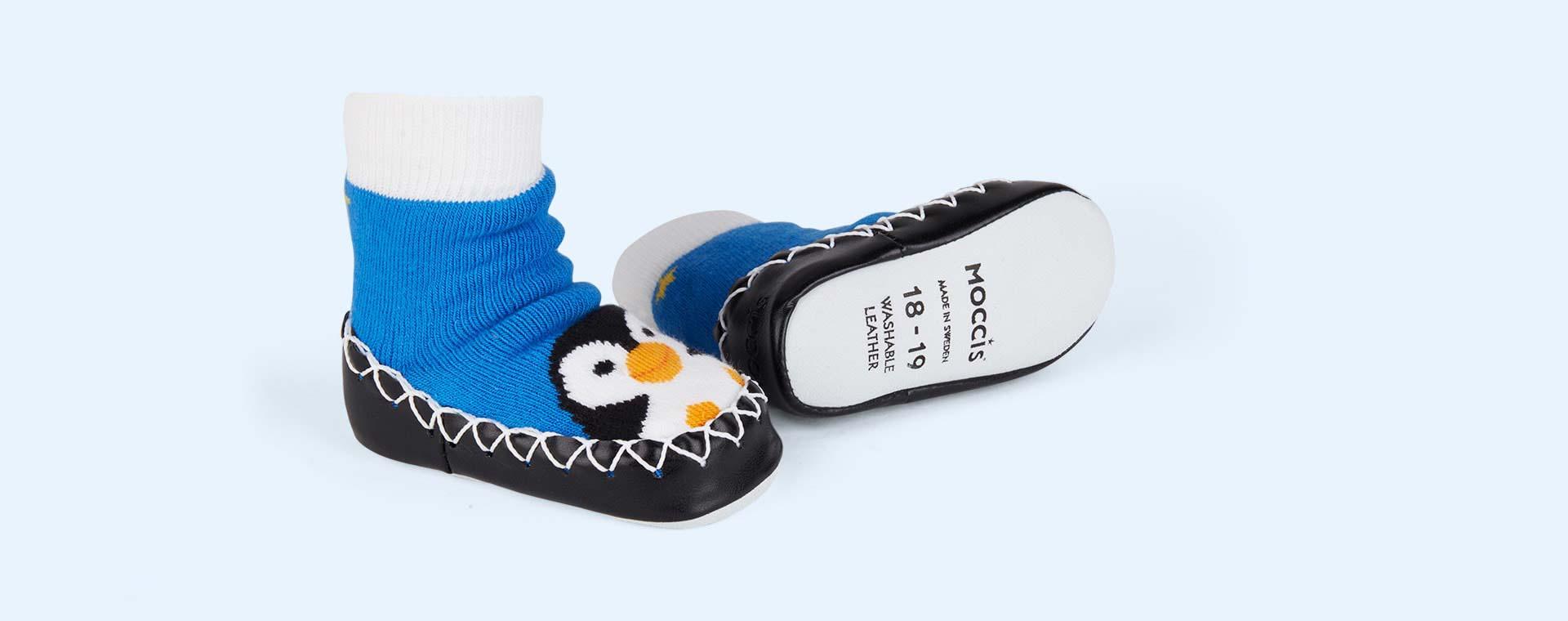 Pengy Brr Moccis Moccasin Slipper Socks