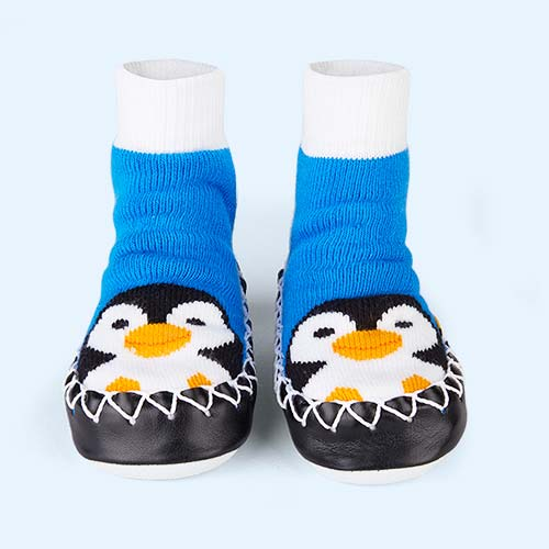 Pengy Brr Moccis Moccasin Slipper Socks