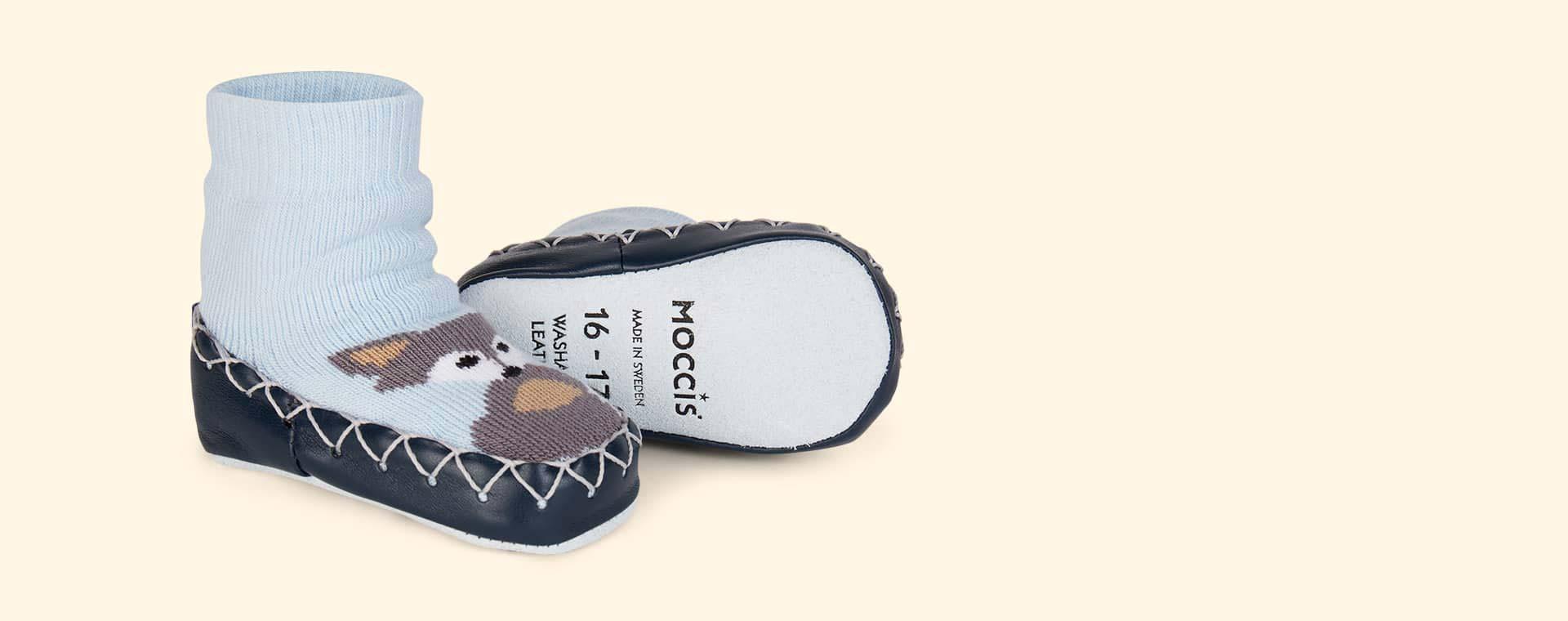 Wolfie Moccis Moccasin Slipper Socks