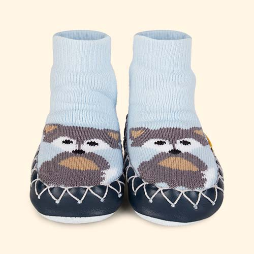 Wolfie Moccis Moccasin Slipper Socks