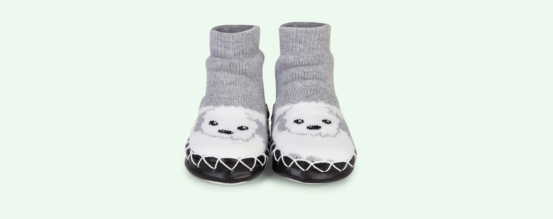 Too Cute Moccis Moccasin Slipper Socks