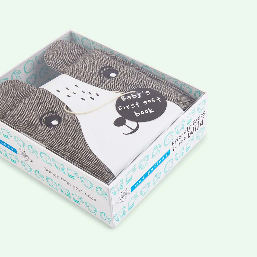 Bear Wee Gallery Soft Cloth Book